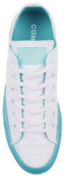 Converse Chucks Taylor All Star Candy Coated Low Damen Sneaker 560646C (White Bleached Aqua)