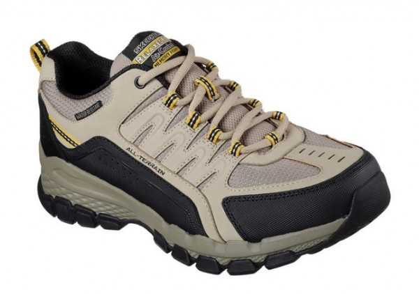 Skechers Outland 2.0 - Rip-Staver Herren Sneaker 51585 (Beige-TPBK)