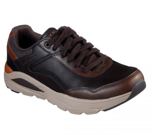 Skechers Relaxed Fit: Verrado - Crafton Herren Sneaker 66274 (Braun-DKBR)