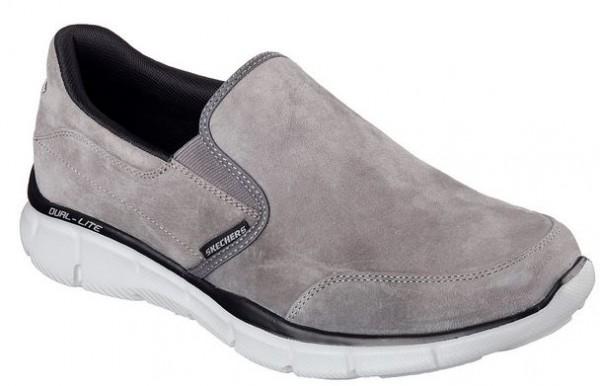 Skechers Equalizer Mind Game Herren Sneaker 51502 (Grau-CHAR)