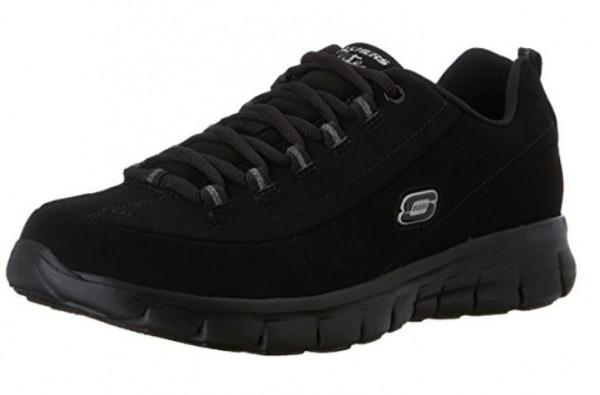 Skechers Synergy Trend Setter Damen Sneaker (Schwarz-BBK)