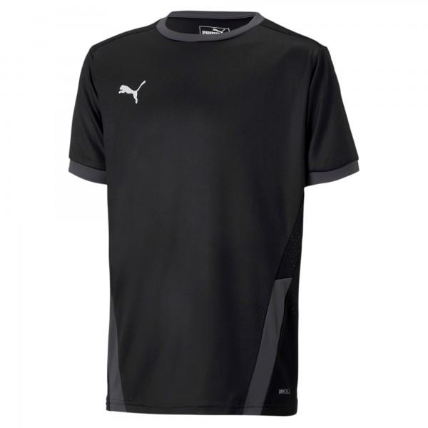 Puma TeamGOAL 23 Jr Kinder Shirt 704160 (Schwarz 03)