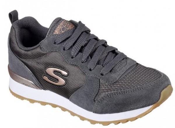 Skechers OG 85 Goldn Gurl Damen Sneaker (Grau-CCL)