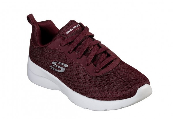 Skechers Dynamight 2.0 - Eye to Eye Damen Sneaker 12964 (Rot-BURG)