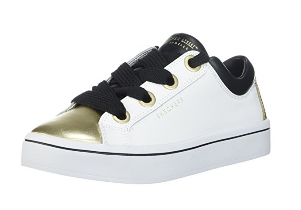 Skechers Hi Lites Damen Sneaker 955 (Weiß/Gold-WBGD)