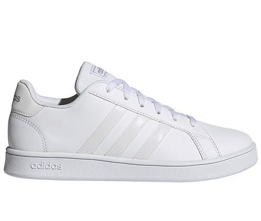 Adidas Grand Court K Kinder Sneaker FZ2224 (Weiß)