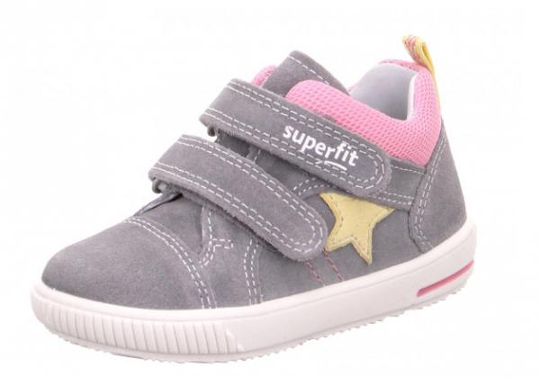 Superfit Moppy Kinder Sneaker 6-09352 (grau/rosa 26)