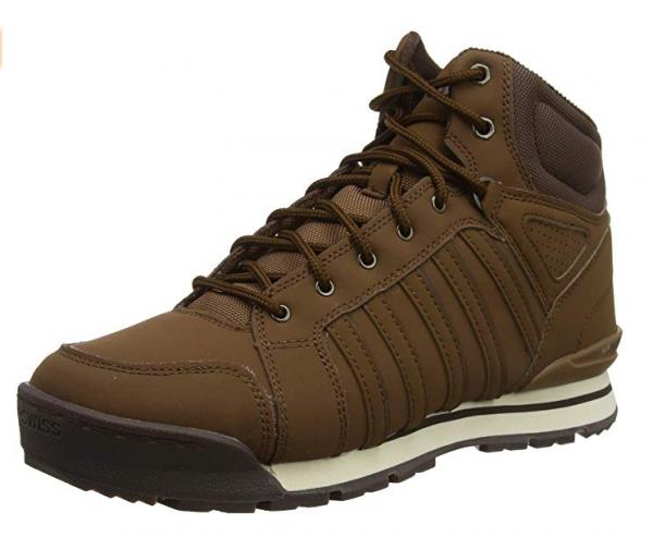 K-Swiss Norfolk SC Herren Schuhe (Braun 250)