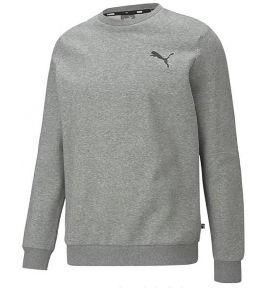 Puma ESS Small Logo Crew FL Herren Sweatshirt 586682 (Grau 53)
