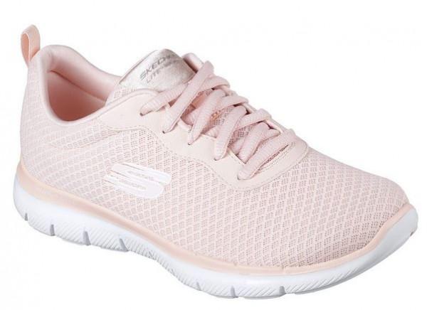 Skechers Flex Appeal 2.0 - Newsmaker Sneaker (Rosa-LTPK)