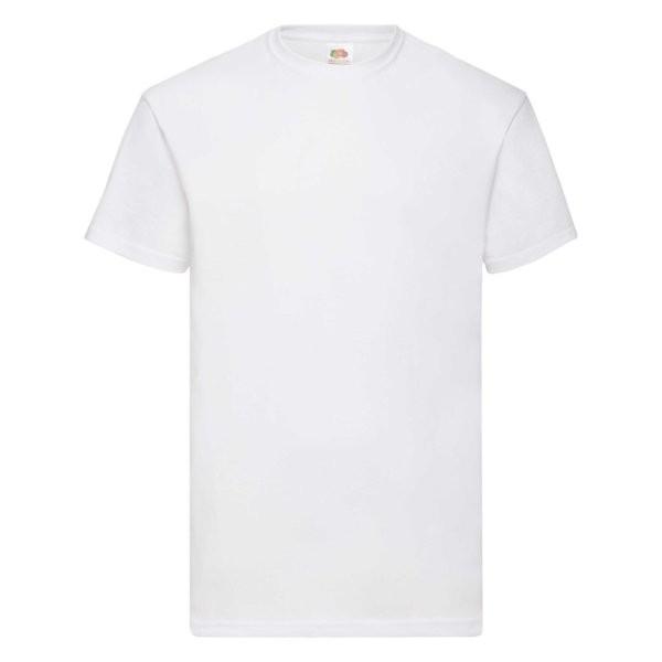 Fruit of the Loom Value-Weight Herren T-Shirt 61-036-0 (Weiß 30)
