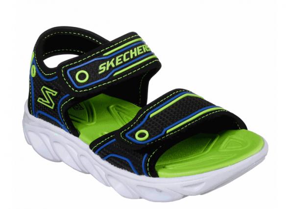 Skechers Hypno-Flash 3.0 Kinder Sandale 90522L (Schwarz-BBLM)