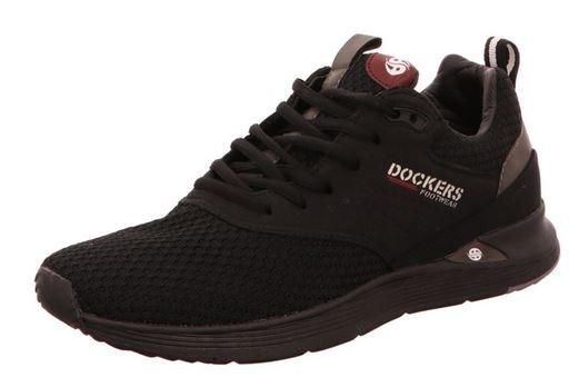 Dockers Herren Sneaker 44BC001-782 (Schwarz 100)