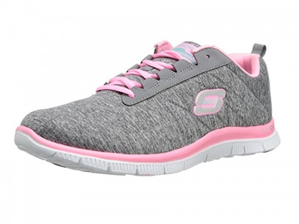 Skechers Flex Appeal Next Generation Damen Sneaker 11883 (Grau-GYPK)
