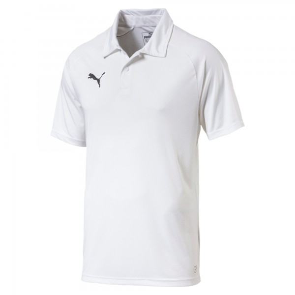 Puma LIGA Sideline Herren Poloshirt 655608 (Weiß 04)