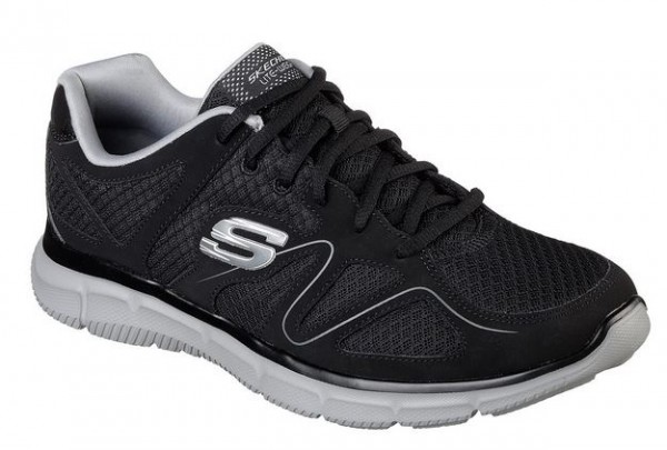 Skechers Satisfaction - Flash Point Sneaker(Schwarz-BKGY)