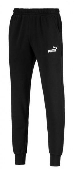 PUMA ESS Logo Pants TR cl Herren (Schwarz 01)