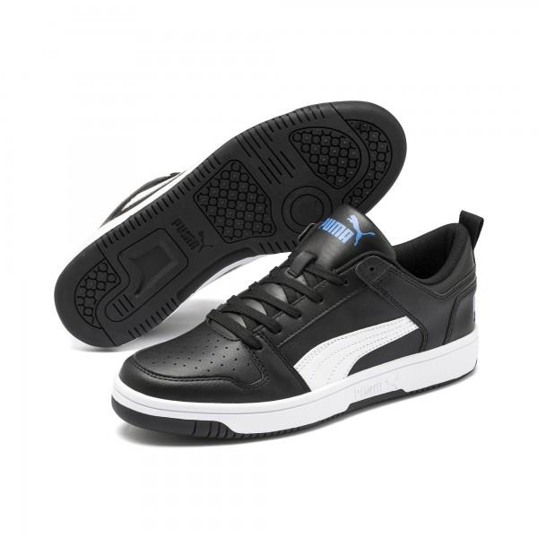 Puma Rebound LayUp Lo SL Herren Sneaker 369866 (Schwarz 07)
