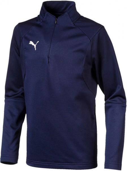 Puma LIGA Training 1/4 Zip Jr Kinder Shirt 655646 (Blau 06)