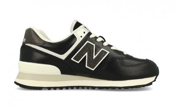 New Balance Damen Sneaker WL574PL2 (Schwarz)