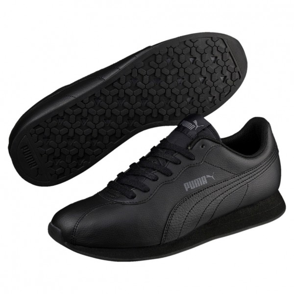 Puma Turin II Herren Sneaker 366962 (black-black 02)