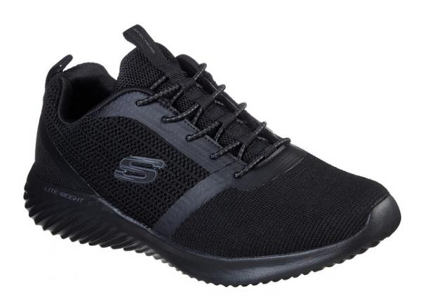 Skechers Bounder Herren Sneaker 52504 (Schwarz-BBK)