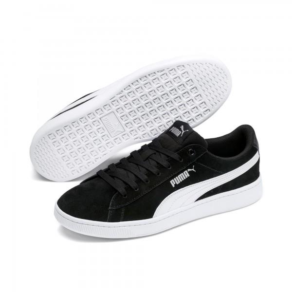 Puma Vikky v2 Damen Sneaker 369725 (Black-White 01)