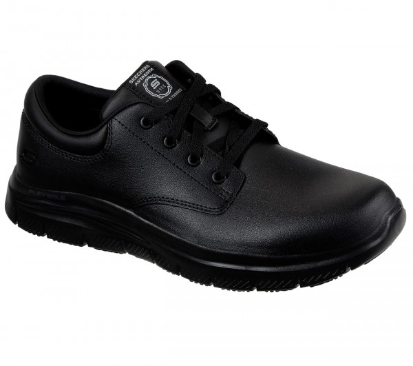 Skechers Flex Advantage SR - Fourche Herren Schuhe 77513EC (Schwarz-BLK)