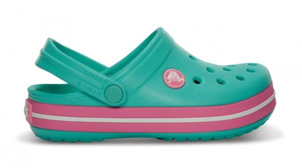 Crocs Crocband Kinder (Island Green/Pink Lemonade)