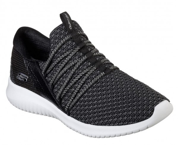 Skechers Ultra Flex Bright - Future Damen Sneaker 12849 (Schwarz-BKW)