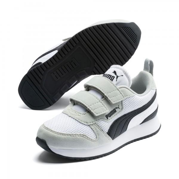 Puma R78 V PS Kinder Sneaker 373617 (Weiß 02)