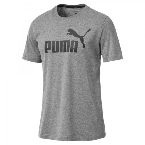 Puma ESS Logo Tee Herren T-Shirt (Grau 03)