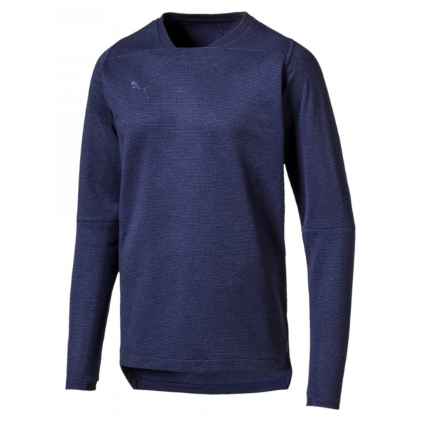 Puma FINAL Casuals Herren Sweatshirt 655293 (Blau 36)