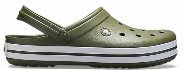 Crocs Crocband Clog (Army Green-White)