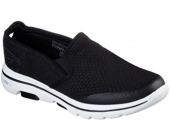 Skechers GoWalk5 - Apprize Herren Sneaker 55510 (Schwarz-BKW)