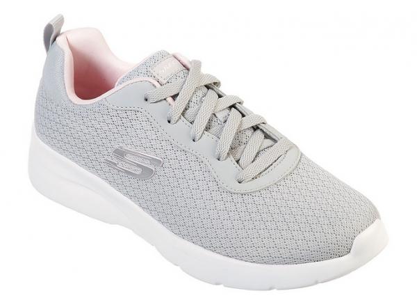Skechers Dynamight 2.0 - Eye to Eye Damen Sneaker 12964 (Grau-LGPK)