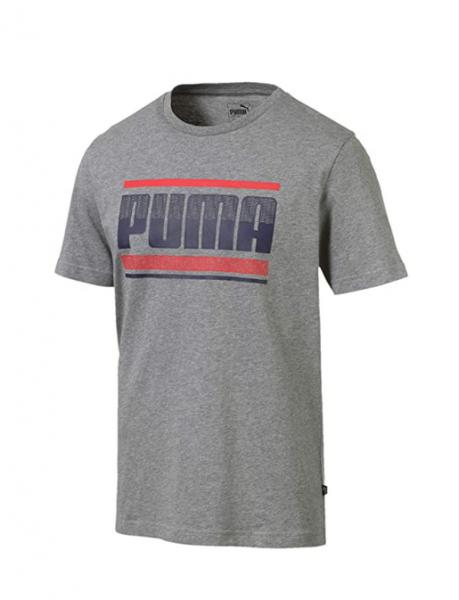 Puma Graphic Herren T-Shirt 580191 (Grau 03)
