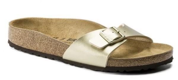 Birkenstock Madrid Birko-Flor normal Sandale 1016106 (Gold)
