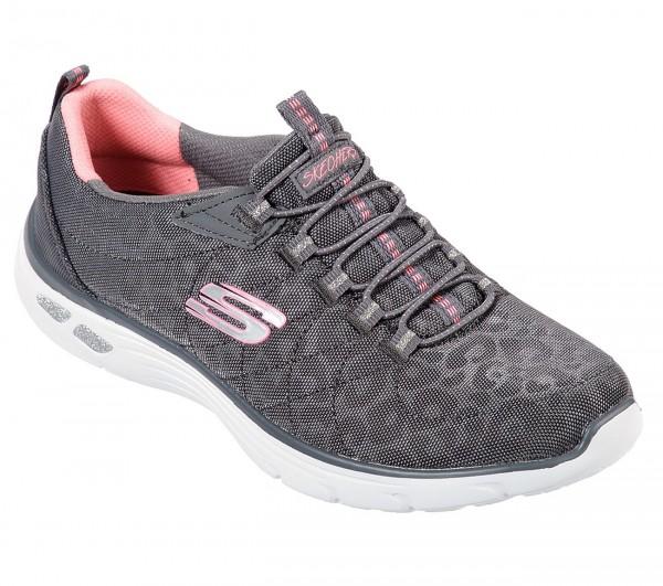 Skechers Empire D'Lux-Spotted Damen Sneaker 12825 (Grau-CCCL)