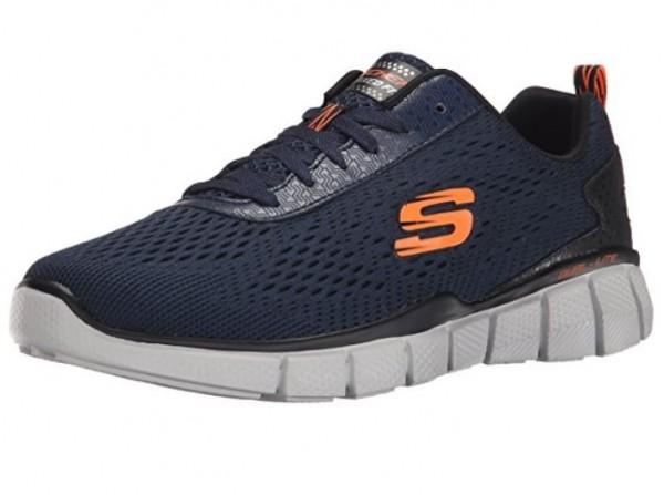 Skechers Equalizer 2.0 Settle The Score Herren Sneaker 51529 (Blau-NVOR)