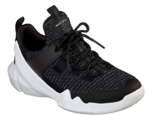Skechers D'Lites - DLT-A Damen Sneaker 12940 (Schwarz-BLK)
