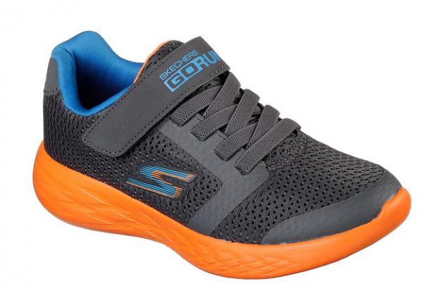 Skechers GORun 600 - Roxlo Kinder Sneaker (Grau-CCOR)