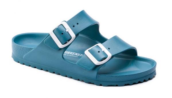 Birkenstock Arizona EVA Damen Sandale schmal 1013094 (Türkis)