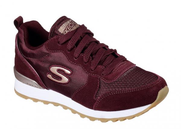 Skechers OG 85 Goldn Gurl Damen Sneaker (Rot-BURG)
