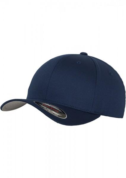 Flexfit Wooly Combed Baseball Cap (Navy-00155)
