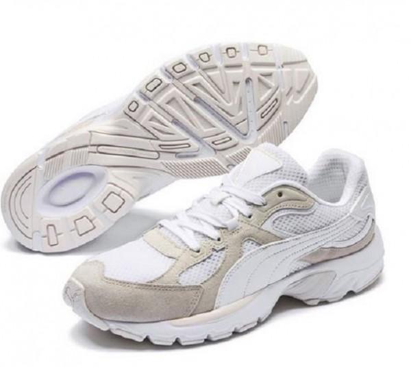 Puma Axis Plus SD Herren Sneaker 370286 (Weiß 01)