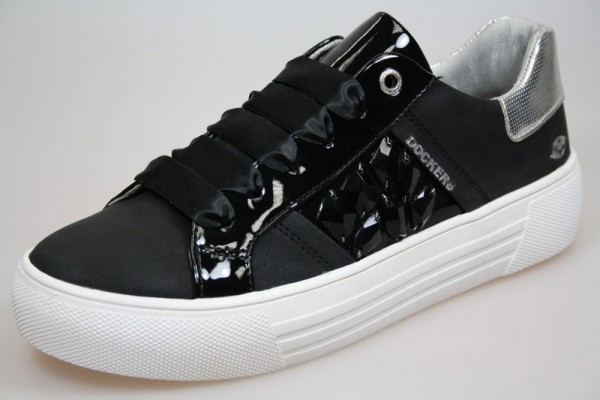 Dockers Damen Sneaker 42BM218-680 (Schwarz 100)