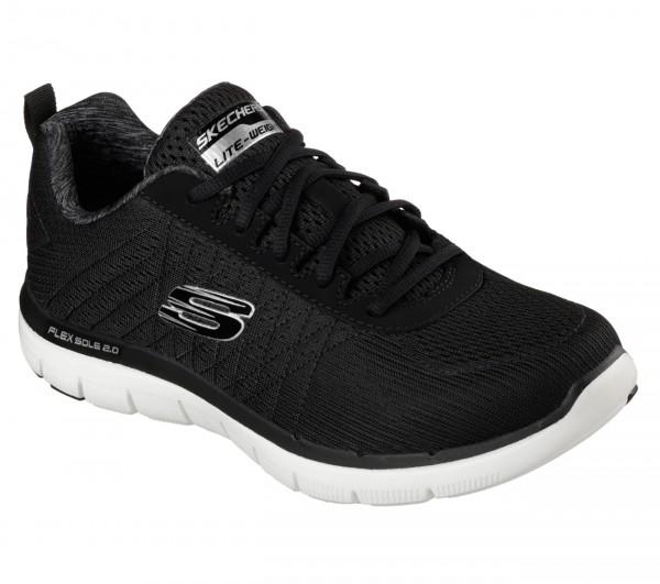 Skechers Flex Advantage 2.0 - The Happs Herren Sneaker 52185 (Schwarz-BKW)