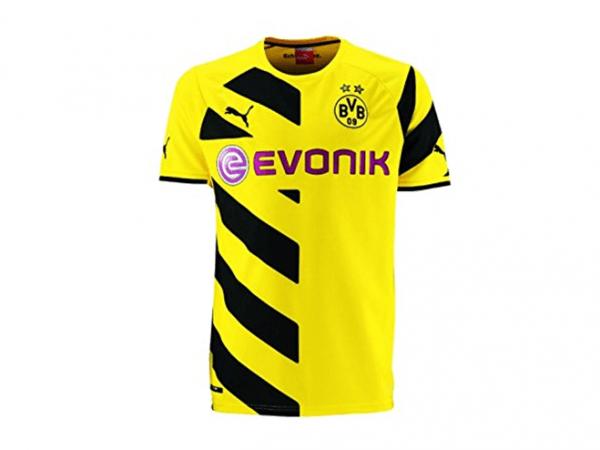 Puma BVB Kinder-Trikot Heim Borussia Dortmund Replica (gelb)