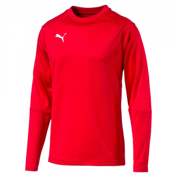 Puma LIGA Training Sweat Herren Shirt 655669 (Rot 01)